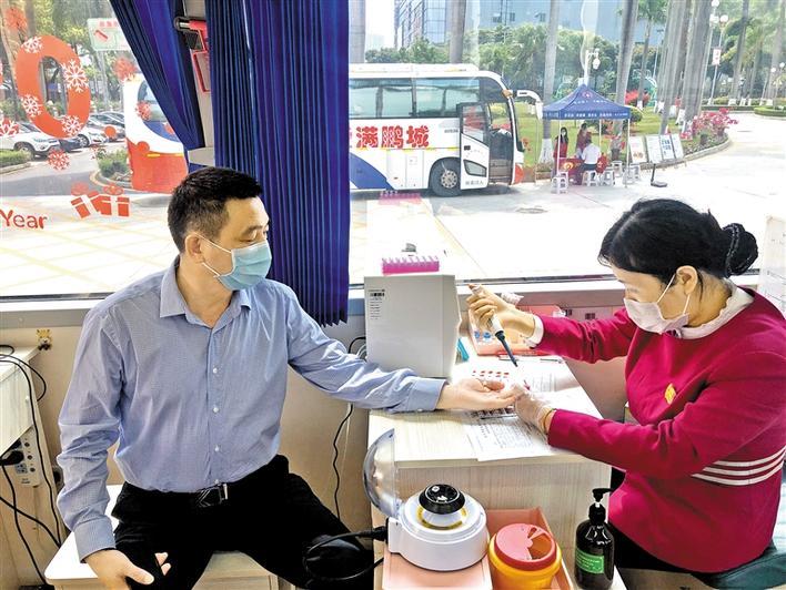 龙华街道125人爱心献血46600毫升