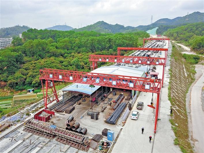 深圳外环高速福城段全面复工