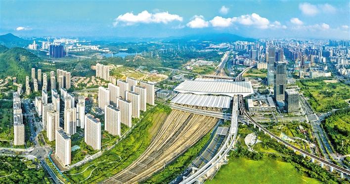 龙华区轨道体系逐渐完善 道路网络不断优化