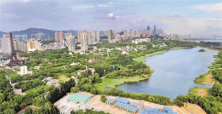 """深圳:向着""""城市文明典范""""迈进"""